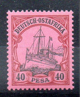 Alemania África Oriental Sello Nº Michel 18 ** BARCOS (SHIPS) - Colony: German East Africa