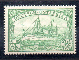Alemania África Oriental Sello Nº Michel 20 ** BARCOS (SHIPS) - Colony: German East Africa