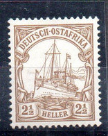 Alemania África Oriental Sello Nº Michel 22 ** BARCOS (SHIPS) - Colony: German East Africa