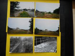 Photo T V  ,TRAMWAY Vendée  Collection Bourneuf ,lire Descriptif  , Chantonnay - Trenes