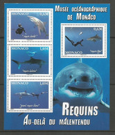 Feuillet   Monaco  En Neuf **  N F 2883  Vendu Au Prix De La Poste - Unused Stamps
