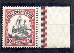 Alemania África Oriental Sello Nº Michel 35 ** BARCOS (SHIPS) - Colony: German East Africa