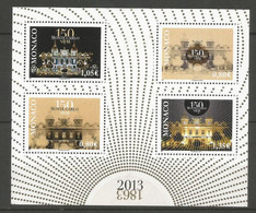 Feuillet   Monaco  En Neuf **  N F 2887  Vendu Au Prix De La Poste - Unused Stamps