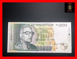 MAURITIUS 200 Rupees 1998   P. 45  XF - Mauricio