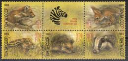 USSR,Wild Animals 1989.,block Of Six,MNH - Nuevos