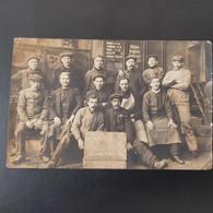 Magasin DUJARDIN 27/03/1918 Photos De Groupe Des Ouvriers Devant Le Magasin - Other