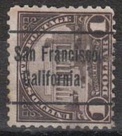 Locals USA Precancel Vorausentwertung Preo, Locals California, San Francisco 571-L-7 TS - Precancels