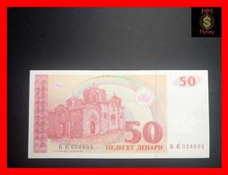 MACEDONIA  50 Denari 1993  P.  11  UNC - Macedonia