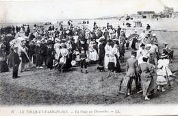 62  LE TOUQUET  LA FOULE UN DIMANCHE - Le Touquet