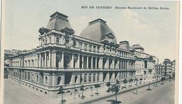 RIO DE JANEIRO - ESCOLA NACIONAL DE BELLAS ARTES  (C P DE CARNET) - Rio De Janeiro