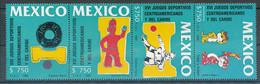 [91243]TB//**/Mnh-Mexique 1990, XVIème Jeux Sportifs D'Amérique Centrale Et Caraïbes, La Bande Complète. - Otros