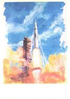 A.Sokolov:A.Leonov:Space Ship Apollo Start, 1978 - Space