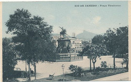 RIO DE JANEIRO - PRACA TIRADENTES (C P DE CARNET) - Rio De Janeiro