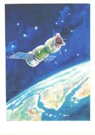 A.Leonov:Space Ship Sojuz-19, 1978 - Space