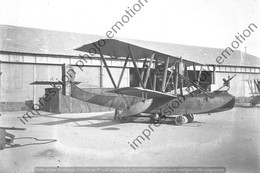 PHOTO RETIRAGE REPRINT AVION HYDRAVION TELLIER 200 CV HISPANO SUIZA 1918 - Aviation