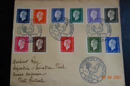 EXPOSITION D'AVICULTURE 1945 Affranchissement Philatélique - Gedenkstempel