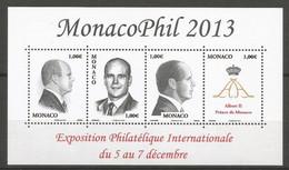 Feuillet   Monaco  En Neuf **  N F 2903  Vendu Au Prix De La Poste - Unused Stamps