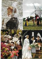 28 Cartes Folklore Breton - Vestuarios