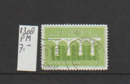 (A643.59) Plaatfout NVPH 1308 PM     Gestempeld CW 7,- - Abarten Und Kuriositäten