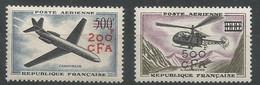 Réunion - PA Y&T N° 56/57** - Prototypes - Posta Aerea