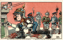 CPA - WW1 WWI Propaganda Propagande - E. MULLER - Umoristica Satirica, Humour Satirique - NV - PV786 - Oorlog 1914-18