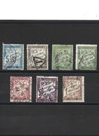 342-1 LOT De Timbres Taxe 1893-1935 Oblitérés - 1859-1955 Usati