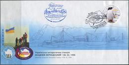 "Ukraine 2020. #1807 - Ukrainian Antarctic Station ""Akademik Vernadsky"". (B05) - Antarctic Expeditions"