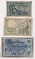 DEUTSCHLAND, Lot Von 16 Banknoten - Unclassified
