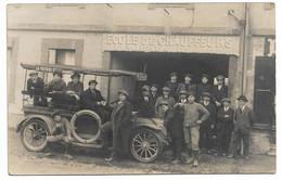 TOULOUSE - Ecole De Chauffeurs  F.MILHES , 11 Route De Paris - ( Carte Photo). - Toulouse
