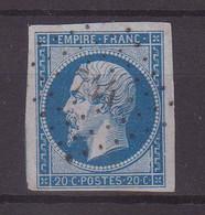 """FRANCE : PC 744 . """" LA CHAPELLE ST LAURENT """" . ( 75) . N° 14 . TB . ( CATALOGUE MATHIEU ) . - 1849-1876: Période Classique"""
