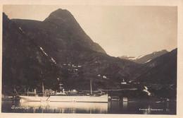 SECT Fra GEIRANGER ROMSDAL NORWAY-SHIP~N SKARPMOEN PHOTO POSTCARD 52729 - Norway
