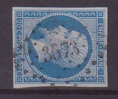"""FRANCE : PC 3673 . """" VOLMUNSTER """" . (55) . N° 14 . TB . ( CATALOGUE MATHIEU ) . - 1849-1876: Période Classique"""