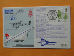 CONCORDE British Airways G-N94AB - London 1980 -- Vol London - New York And Return Du 7 May 1980 - Otros