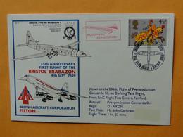 CONCORDE 101 - G-AXDN - Flown On The 200th Flight Of Pré-production The 4-09-1974 - Pilot John Cochrane - Otros