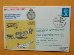 CONCORDE 202 - G-BBDG - Flown From RAF Fairford Training Flight The 29-10-1975 - Pilot John Cochrane - Otros