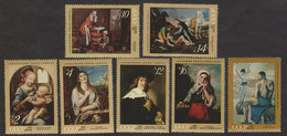 USSR (Russia) - Mi 3898-3904 - Works Of Art From Museums Of The USSR - 1971 - MNH - Ungebraucht