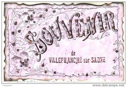SOUVENIR DE VILLEFRANCHE SUR SAONE - Villefranche-sur-Saone