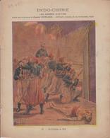COUVERTURE De CAHIER - INDO-CHINE - 10. Guet-Apens De Hué - Zouaves, Tirailleurs - Illustration L.BOMPLED -  Fin XIXe - Book Covers