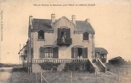56 - N°75848 - Villa Du Docteur De Beaunois, Près L'Hôtel De CARNAC-PLAGE - Carnac