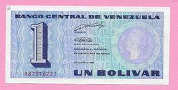 1 BOLIVAR 1989 VENEZUELA UNC - Venezuela