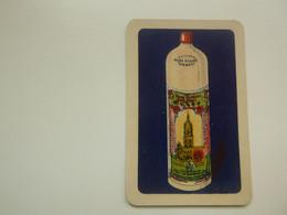 Speelkaart ( 0524 ) Dos D' Une Carte à Jouer - Wijn Vin Likeur Liqueur  Distillerie Stokerij  - ORBEC  Gent  Gand - Barajas De Naipe