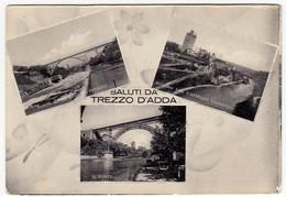 SALUTI DA TREZZO D'ADDA - MILANO - 1954 - VEDUTE - Milano (Milan)