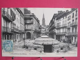 88 - Plombières Les Bains - Rue Stanislas Et Bain Romain - 1907 - Excellent état - R/verso - Plombieres Les Bains
