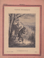 COUVERTURE De CAHIER - LE BAROMETRE EN VOYAGE - Géomètre Sciences Pittoresque N°5 H.et Cie Paris - Fin XIXe - Book Covers