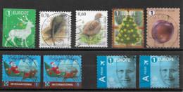 Belgique Oblitérés  - 9   Différents - Used Stamps