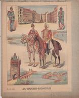 COUVERTURE De CAHIER - AUTRICHE - HONGRIE Ch. D. Paris - Fin XIXe - Book Covers