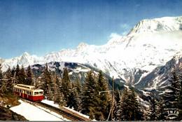 74 SAINT GERVAIS LE T.M.B. PRES DU COL DE VOZA PANORAMA SUR LA CHAINE DU MONT BLANC - Saint-Gervais-les-Bains