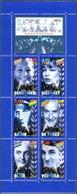 FRANCE 1998 - Carnet BC 3193 - 6 Timbres MNH ** - CARNET NON PLIÉ * ACTEURS DE CINÉMA (Petit Prix ) - Bekende Personen