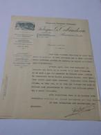 T619 / Facture FABRIQUES TRIBAUDEAU  à BESANCON Doubs - Horlogerie Bijouterie Orfevrerie Montres - Invoices