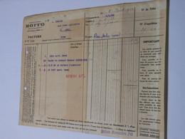 T620 / Facture Ets ROFFO Pièces Machines Agricoles - 8 Place Voltaire à PARIS - Invoices